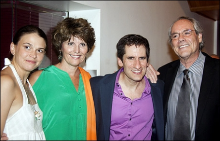 Sutton Foster, Lucie Arnaz, Seth Rudetsky and Robert Klein
