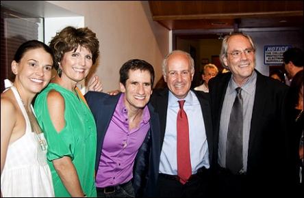 Sutton Foster, Lucie Arnaz, Seth Rudetsky, Joseph Benincasa and Robert Klein