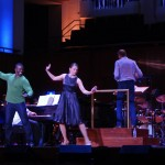 Rehearsal with Joshua Henry - NSO Pops: Sutton Foster / Steven Reineke (Nov. 14, Washington DC) - Photo credit Camille Ridoux