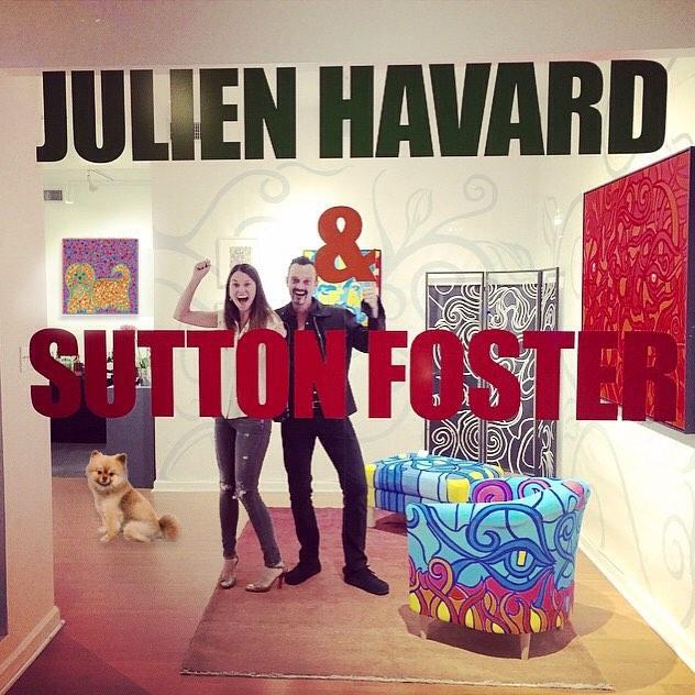 Broadwayworld Photo Coverage Sutton Foster Enlists