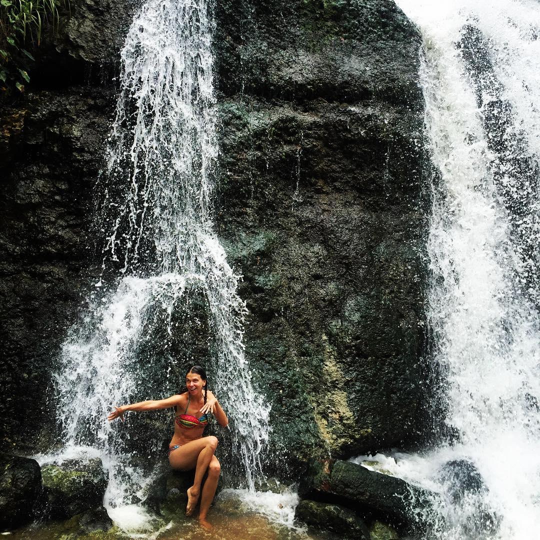 Waterfall action puertorico