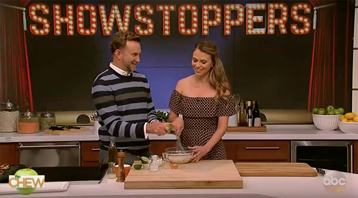 Watch Sutton on The Chew